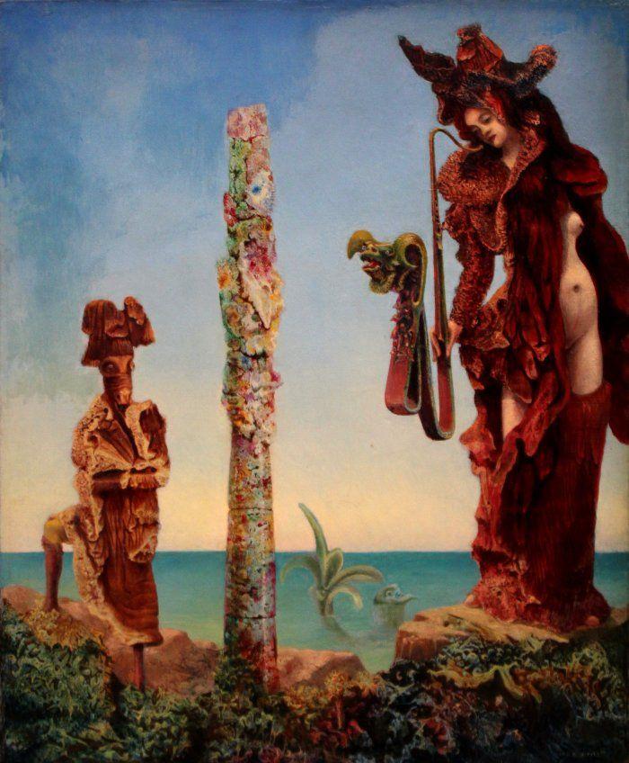 Max Ernst. Napoleon kõnnumaal. sürrealism