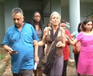 Scarlett mother   Panaji Goa [India], Sept. 23 : As the Goa Children's Court on Friday acqu...