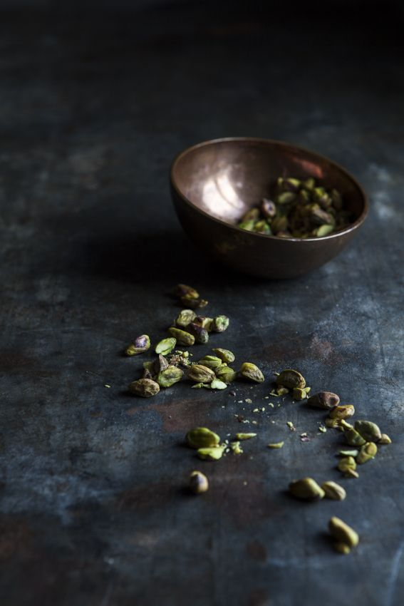 pistachio in a bowl | fruit . Frucht . fruit | Food. Art + Style. Photography: Food on black by Nadine Greeff |