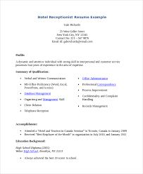 Image result for resume hotel word templates free download