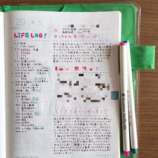 最近SNSで話題の「ライフログ」。今ドキ女子がどんな風に手帳に残しているか、気になりますよね!これを見たらあなたもすぐにライフログを始めたくなる♪みんなのライフログの中身や有意義な手帳の使い方をご紹介します。