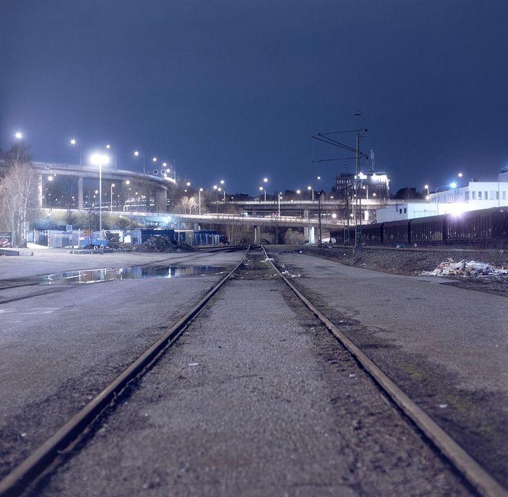Tracks in Stockholm