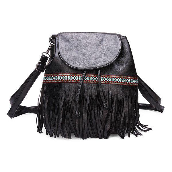 bolsos de las mujeres bolsos de cubo de la cadena de borlas bolsas de…