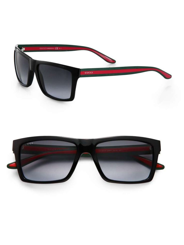 Gucci Web Stripe Sunglasses..Oooh, yes!