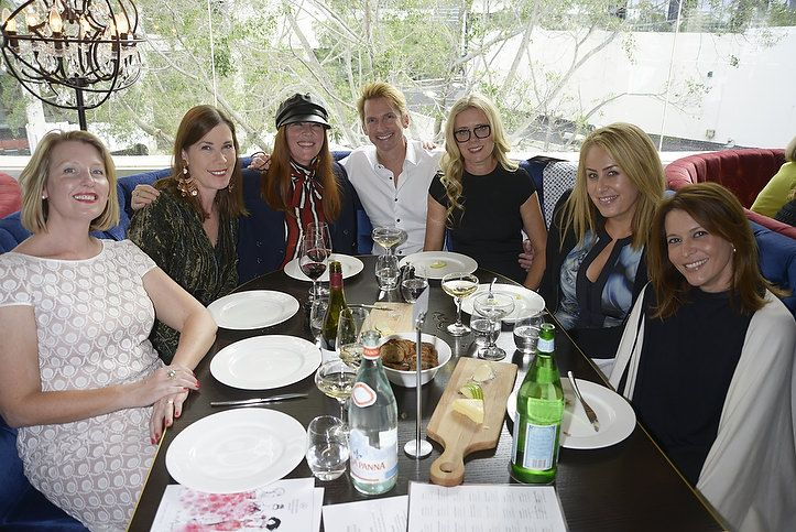 Sacha Drake, Kylie Lang, Kimberly Gardner, Damien Anthony Rossi, Claire Parviz, myself and Sofie Formica
