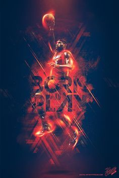 2014 NBA PLAYOFFS - BORN TO PLAY on Behance