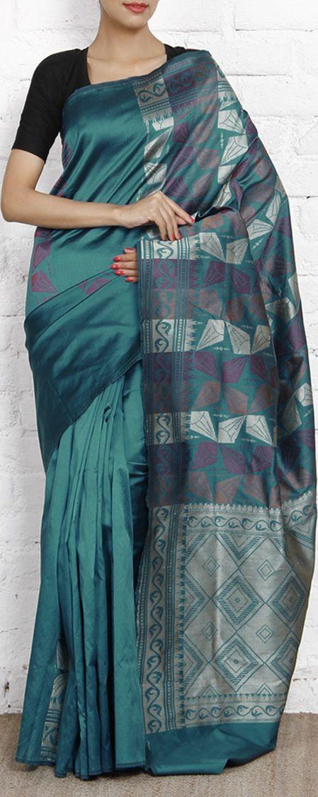 South Silk Saree. original pin by @webjournal