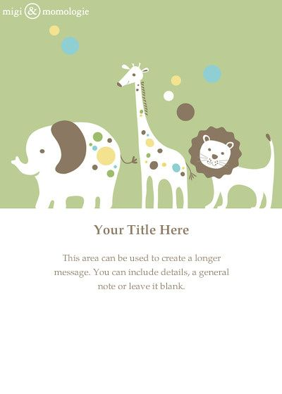 26 best Baby shower E-invitations images on Pinterest