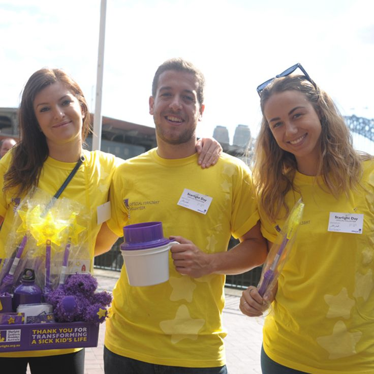 Kudos to the awesome team of Starlight volunteers. Be part of their squad and make a child happy on Starlight Day this coming May.   Check out their Facebook page for more info.