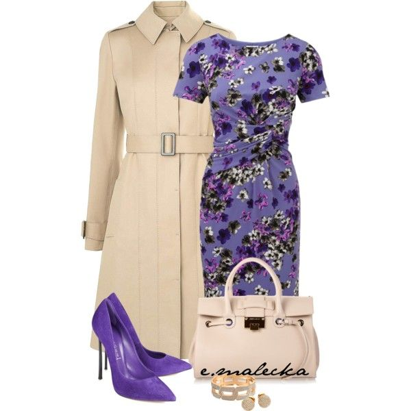"""Stylish lady"" by eva-malecka on Polyvore"