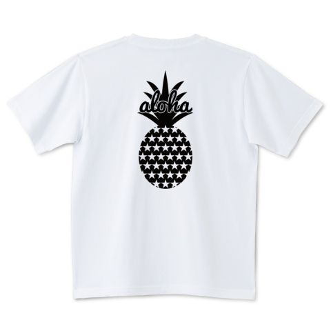 バックプリントaloha (star)061 | デザインTシャツ通販 T-SHIRTS TRINITY(Tシャツトリニティ)