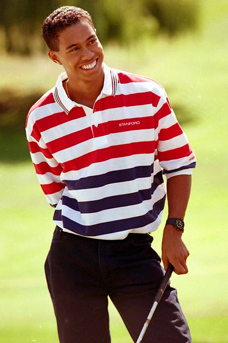 Tiger Woods, the college years