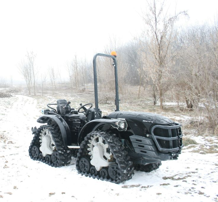 Antonio Carraro Mach 4 in Winter
