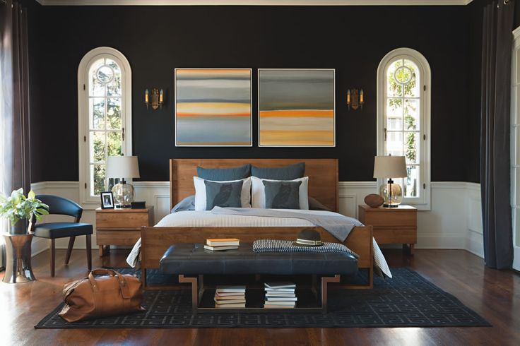 88 best images about paint colors wallpaper on pinterest for Jeff lewis bedroom designs