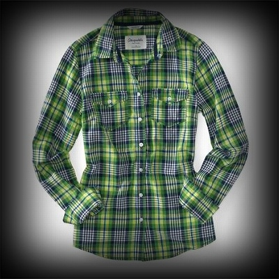 Aeropostale レディース シャツ エアロポステール Vanessa Plaid Woven Shirt シャツ-アバクロ 通販 ショップ-【I.T.SHOP】 #ITShop