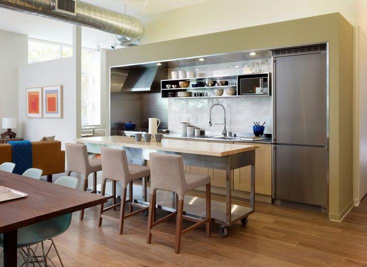 островной рабочиий стол на кухне - Поиск в Google
