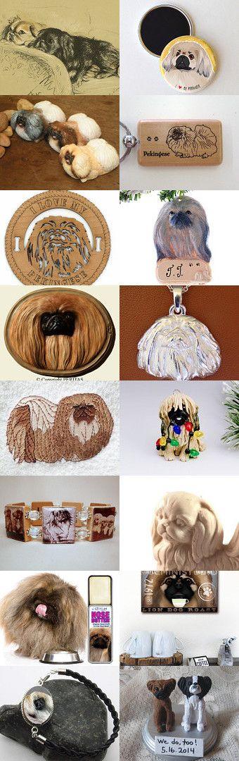 16 Pekingese by Eli Rolandova on Etsy--Pinned with TreasuryPin.com- for pekingese lovers