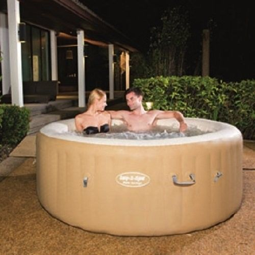 Lay-Z-Spa-Palm-Springs-Inflatable-Hot-Tub-Relaxation-Home-and-Garden-New