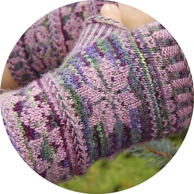 146 best Knit Patterns: Mitts images on Pinterest | Knitting ...