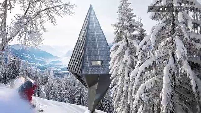 LUXE TV - New forms of environmental architecture. Primeval Symbiosis, a surprising, eco-friendly project. Danish design and architecture st...