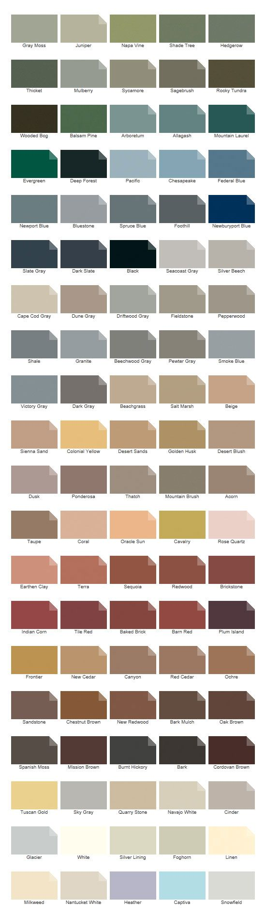 1000 images about cedar siding paint color ideas on - Cabot interior stain color chart ...