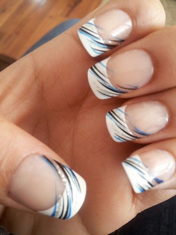 Classic french nail designs with a modern and playful twist - Exquisite Girl