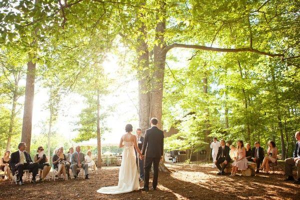 Outdoor Woods Wedding Ceremony: 17 Best Ideas About Woods Wedding Ceremony On Pinterest