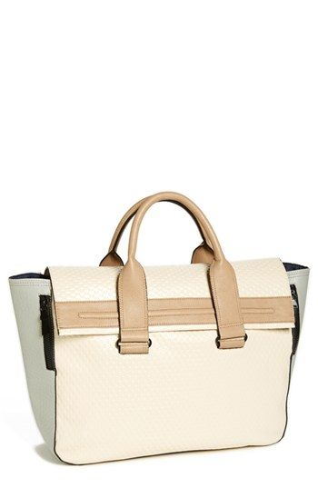 French Connection 'Adored Cord' Tote available at #Nordstrom  I want the black version too!
