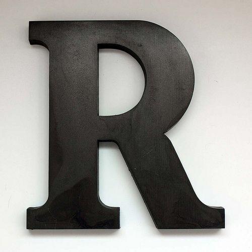 361 best big single letters images on pinterest wood for Big wooden letter b