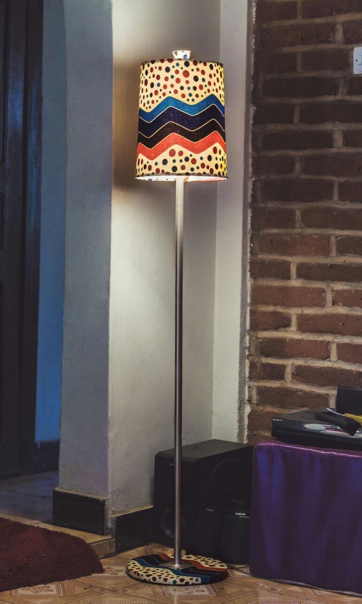 20 best zeal luminance images on pinterest kitenge buffet lamps floor lamp shade covered with african printskitenge african ideas made from aloadofball Images
