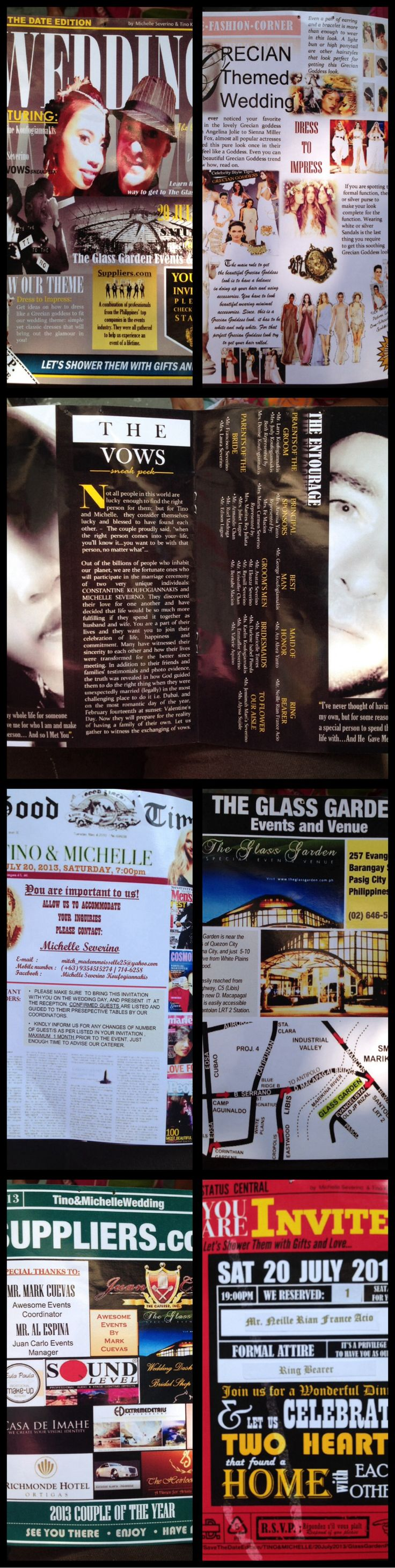 13 best ticket images on pinterest corporate identity invitations diy wedding invitation magazine type stopboris Gallery