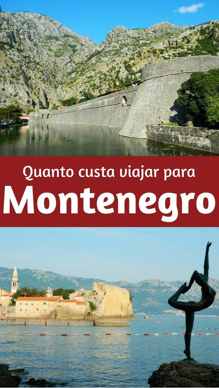 Quanto custa viajar para Montenegro. Uma viagem curta, de seis dias, passando por Budva e Kotor, e com tours para conhecer os belos parques nacionais pelo interior do país.