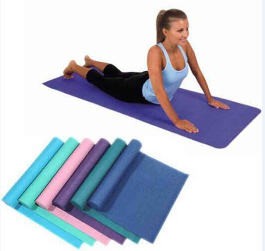 Yoga mat helps to cushion and prevent body weight from hurting the bones while you are balancing. Mats also keep hands and feet from slipping on a hard floor. When comparing yoga mats, consider several factors before deciding on the one that's best for you. The product size is 68 X 24