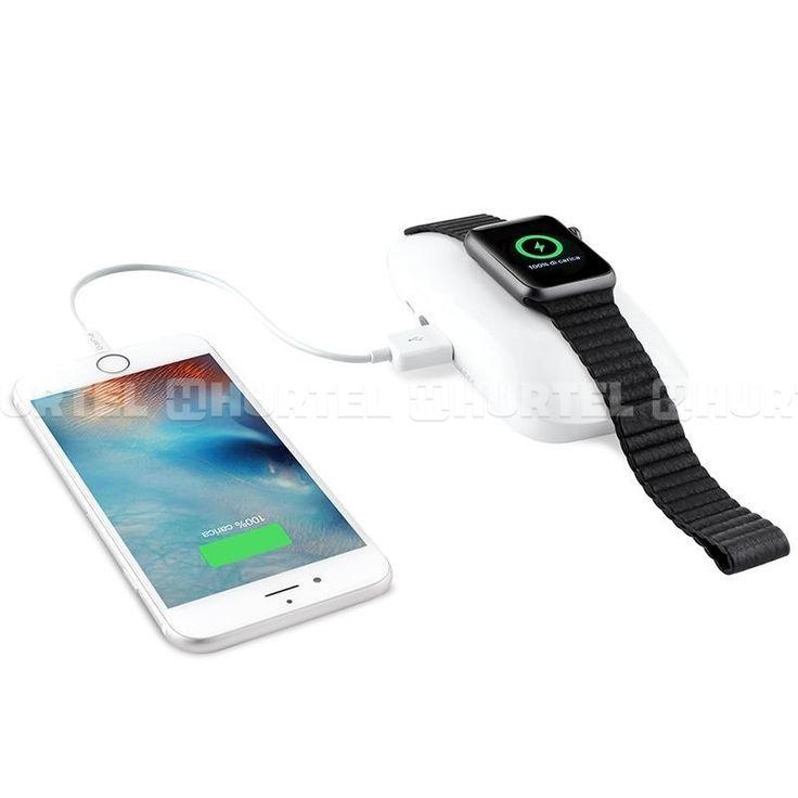 PURO Dual iPower - Mobilna stacja Apple Watch & iPhone 4000mAh (funkcja powerbank)