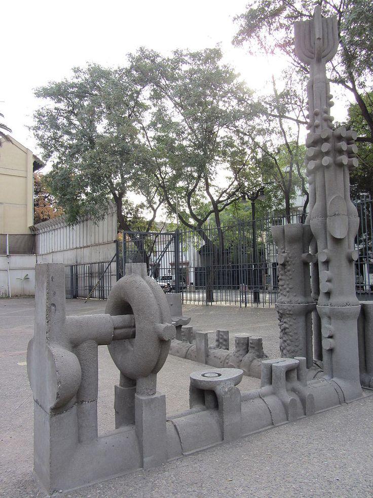 FEDERICO ASSLER. Escultura, Santiago de Chile