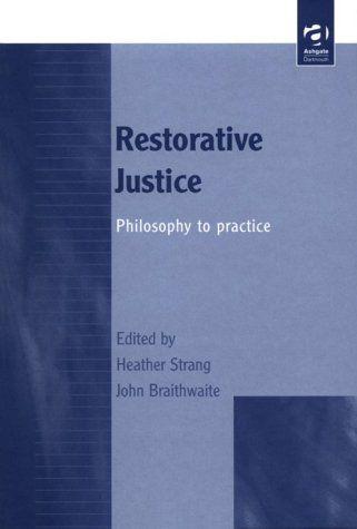 best criminology new books images criminology restorative justice philosophy to practice by heather strang 2000