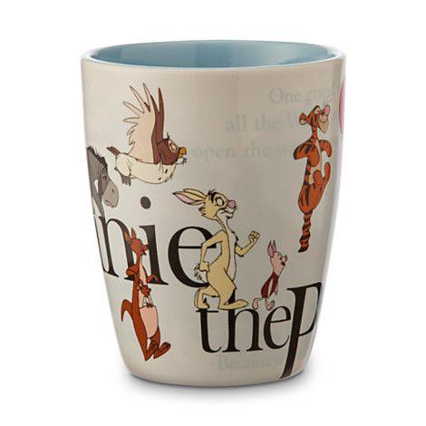 Winnie The Pooh And Friends Storybook Mug. Cinderella CastleKitchen  SuppliesDisney ...