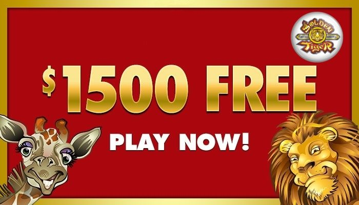 New players to Golden Tiger get $1500 free and one hour to keep whatever they win PLUS get up to $250 FREE on their first deposit. They also offer FREE membership to their unbeatable loyalty program,  CasinoRewardsGroup provides a platform for a total of 29 casinos and any loyalty points can be redeemed at the casino of the player's choice. They also have highly competitive weekly and monthly promotions meaning players can accumulate VIP points quicker.