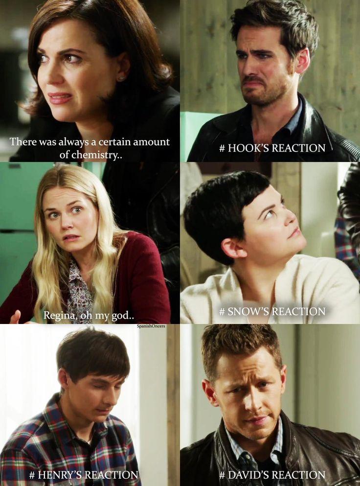 I love Killian's reaction the best.