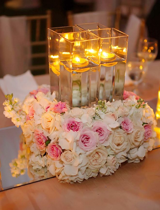 Best images about candle wedding centerpieces on