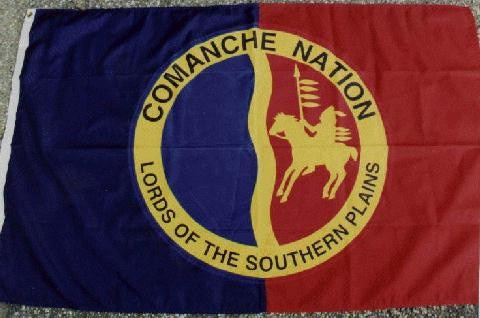 Comanche Indian. Part of my heritage.