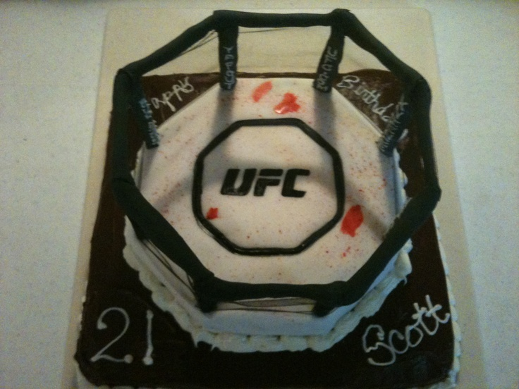 1000 Images About Mma Cake Ideas On Pinterest Cookie