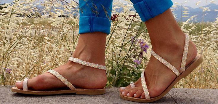 Sofia Manta Creations Genuine Leather Handmade Sandals