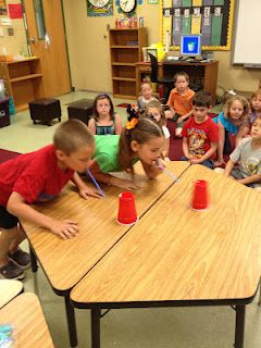 """Minute to Win It"" games for end of the year celebration plus candy awards! so…"