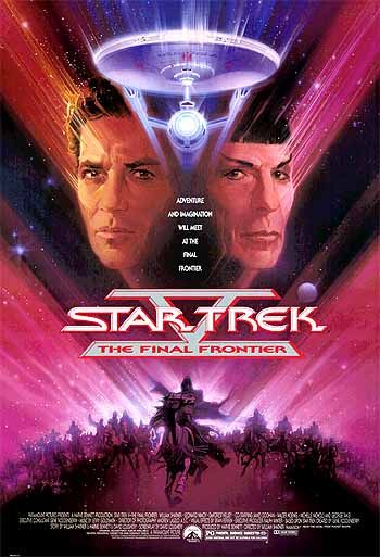 Star Trek V, The Final Frontier (1989) Bob Peak | www.americanartarchives.com