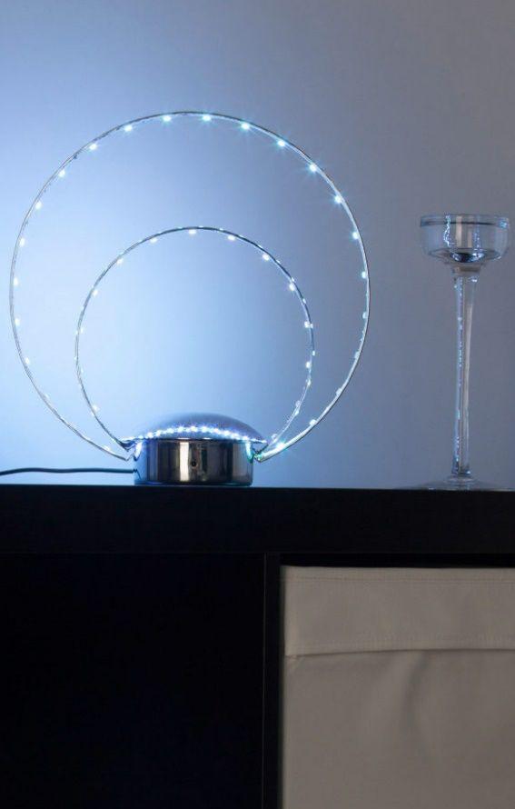 Best LED Deko Tischlampe Brilliant Leuchten Wohnzimmer Schlafzimmer B ro K che