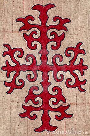 Kyrgyz embroidery