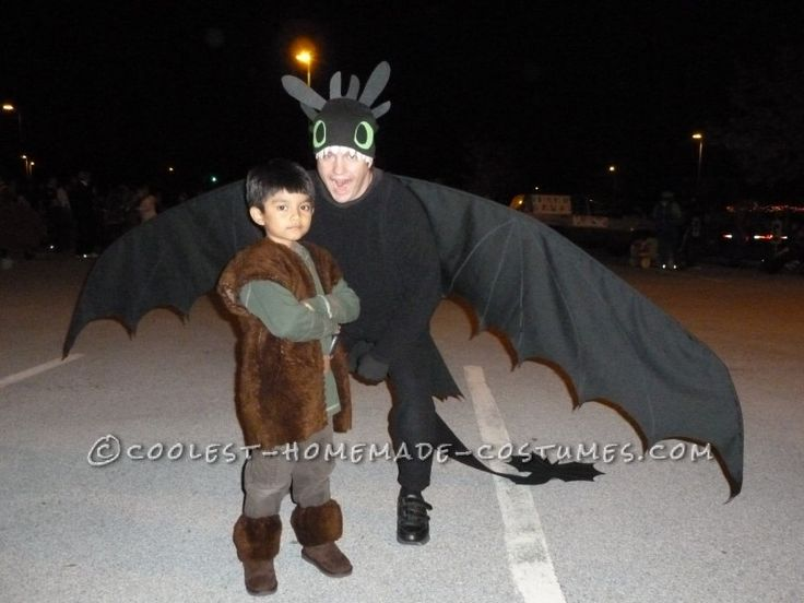 100 best disfraces images on pinterest halloween ideas carnivals fatherson diy costume how to train your husband to be a dragon and his trainer solutioingenieria Images