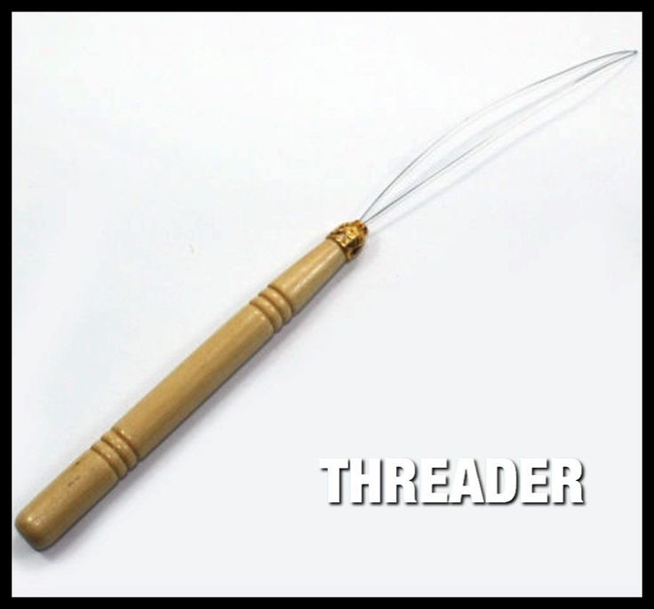 Professional Threader Tool for Feather and Hair Extension attachment
