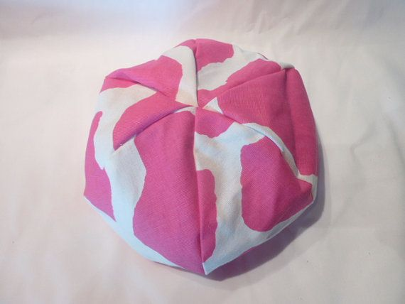 American Girl Doll Bean Bag Chair Pink By CopperBugCompany